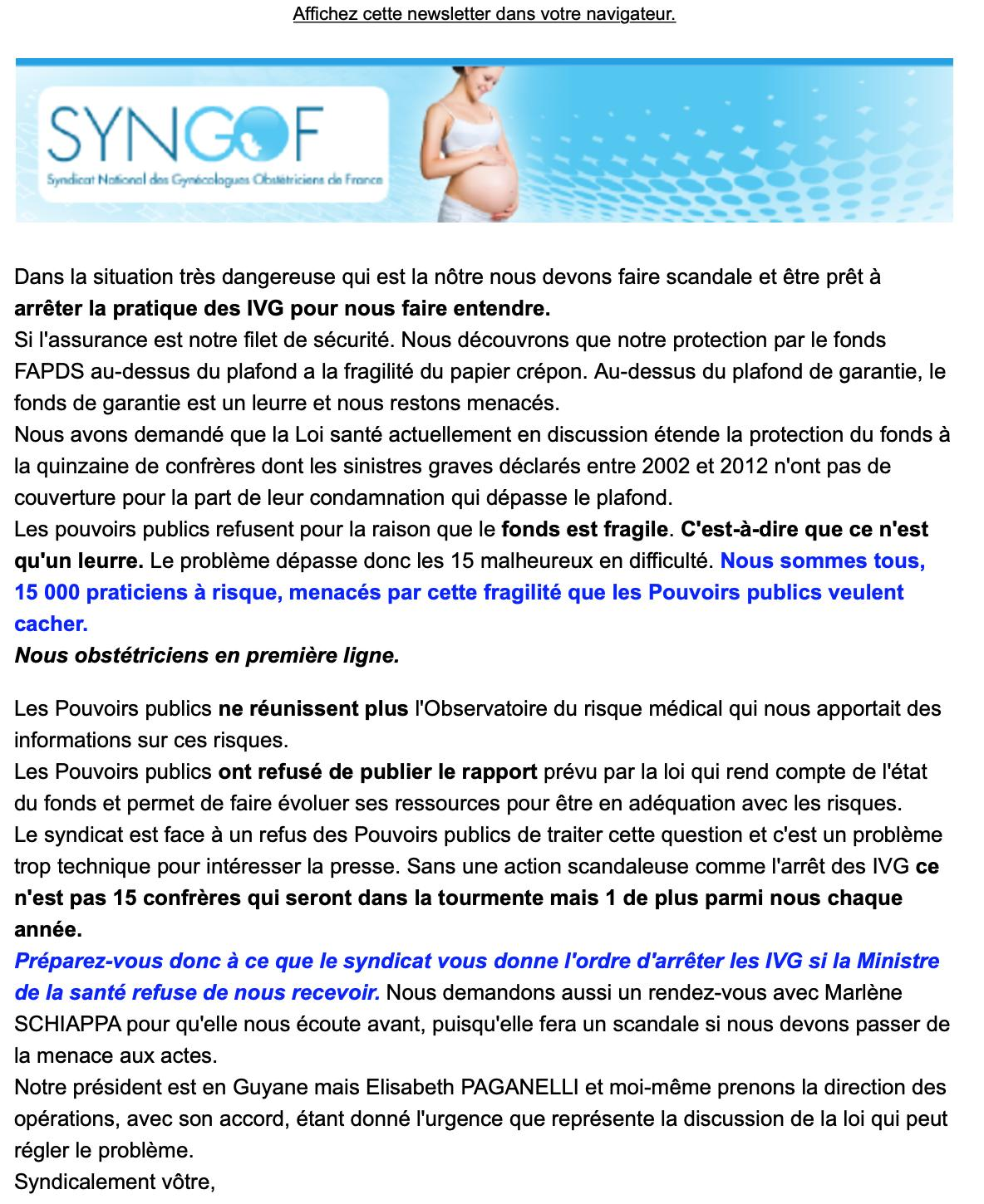 Newsletter IVG